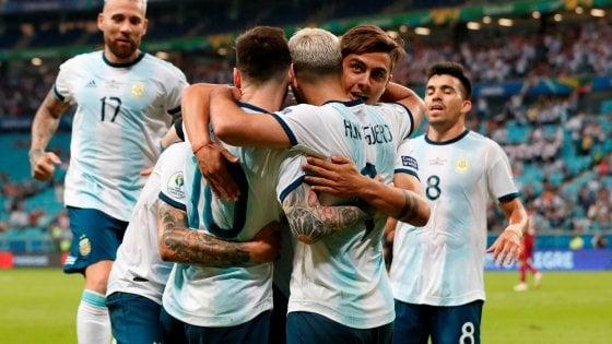 Coppa America, la pallida Argentina batte il Qatar e accede ai quarti