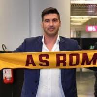 Roma, è arrivato Fonseca: ''Felice, emozionato e molto motivato''