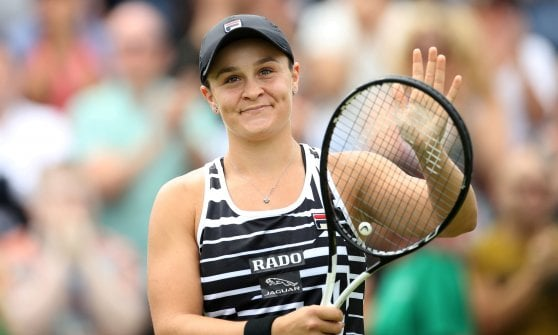 Tennis, classifiche: Barty è la nuova regina, Berrettini entra in top 20