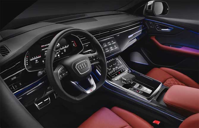 Nuova Audi SQ8 Tdi, la forza del diesel