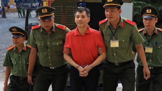 In Vietnam un cittadino americano è stato condannato a 12 anni per sovversione contro lo Stato