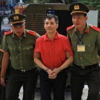 In Vietnam un cittadino americano è stato condannato a 12 anni per sovversione contro lo...