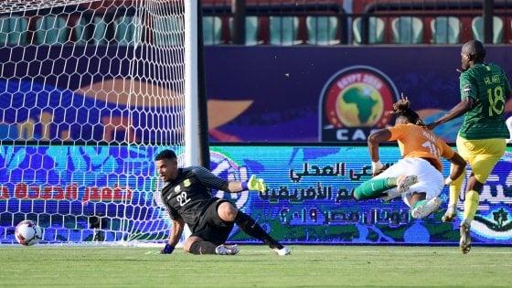 Coppa d'Africa: Kodjia lancia la Costa d'Avorio, pari tra Tunisia e Angola