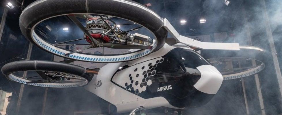 Taxi volanti a guida autonoma: alle olimpiadi di Parigi i vip viaggeranno così