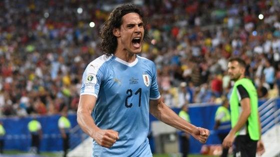 Coppa America: Cavani stende il Cile, Uruguay ai quarti da prima nel girone