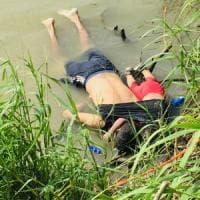 Padre e figlia di due anni, migranti, annegano nel Rio Grande. La foto shock indigna...