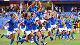 Italia da sogno, la Cina si arrende: 2-0 Azzurre ai quarti video