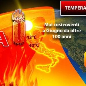 Meteo, due giorni di caldo record: temperatura percepita anche oltre i 50 gradi a Nord
