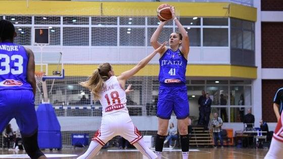 """Basket, Europei femminili; l'Italia sogna in grande. Crespi: """"Vogliamo osare, obiettivo Preolimpico"""""""