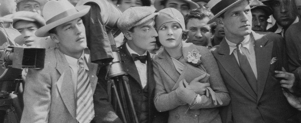 Buster Keaton e quella coppia di milanesi in viaggio di nozze sul suo set