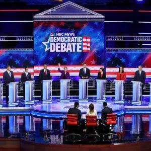 Usa, con la prima sfida in tv al via la corsa per la nomination democratica