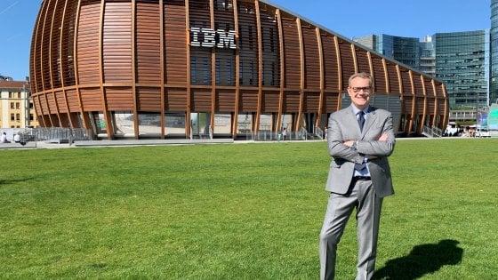 Enrico Cereda, presidente e amministratore delegato di IBM Italia