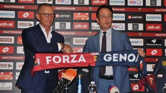 """Genoa, Andreazzoli: """"Qui storia e tradizione, riconquisteremo i tifosi"""""""