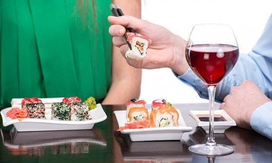 Quelle tra pesce e vino rosso? Sono nozze d'amore!