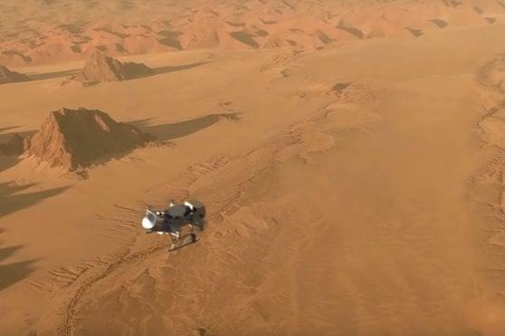 Nasa, un drone per esplorare Titano, la luna più grande di Saturno
