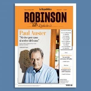 """Con il nuovo """"Robinson"""" a casa di Paul Auster"""