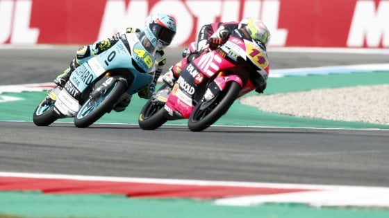 Moto3, Assen: doppietta italiana. Vince Arbolino, secondo Dalla Porta