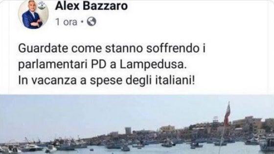 """Sea-Watch, il deputato leghista Bazzaro rilancia il fake sui parlamentari a bordo. Poi cancella il post: """"Uno scherzo"""""""
