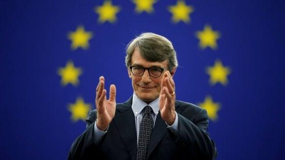 Da volto dei Tg alla presidenza del Parlamento europeo: ecco chi è David Sassoli