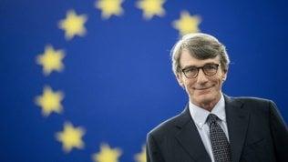 """Parlamento europeo, David Sassoli eletto nuovo presidente: """"Riformare le regole di Dublino"""""""