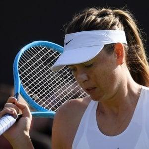 Wimbledon, il declino di Sharapova: lacrime, dolori e ritiri