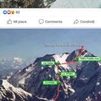Cala Cimenti in cima al Nanga Parbat, cronaca social di una scalata