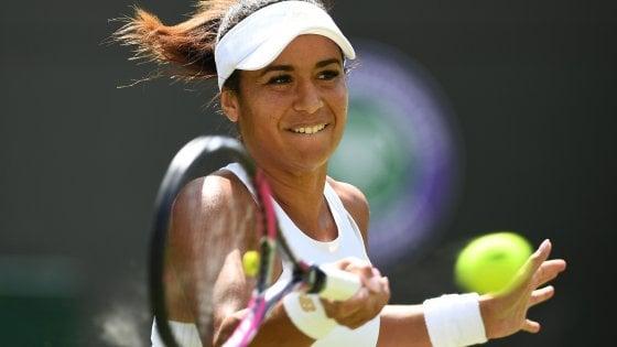 """Tennis, il volto cupo di Wimbledon. Heather Watson: """"Quando perdo ricevo insulti razzisti"""""""