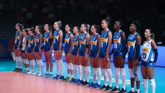 Volley donne, Nations League: l'Italia parte male, la Turchia vince 3-0