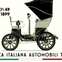Sorpresa, la prima Fiat sul francobollo per i 120 anni