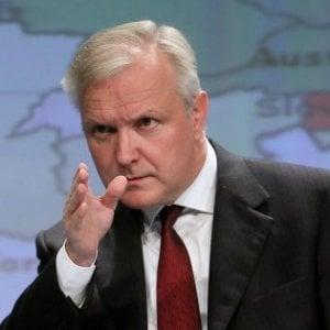 Olli Rehn: L'Italia ha potenziali enormi ma non deve isolarsi