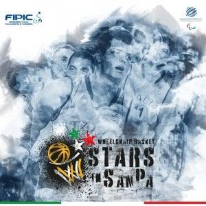 """Basket in carrozzina, dal 17 al 19 luglio """"Stars in SanPa"""", triangolare Italia, USA e GBR a San Patrignano"""
