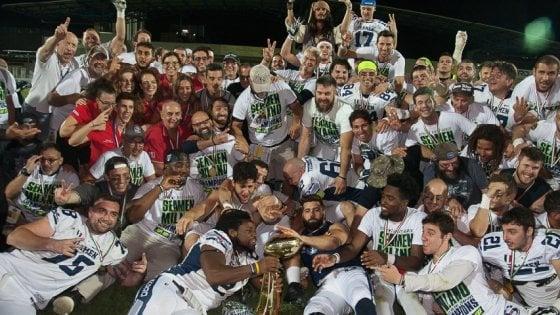 Football americano, 39° Italian Bowl: Guelfi contro Seamen per lo scudetto