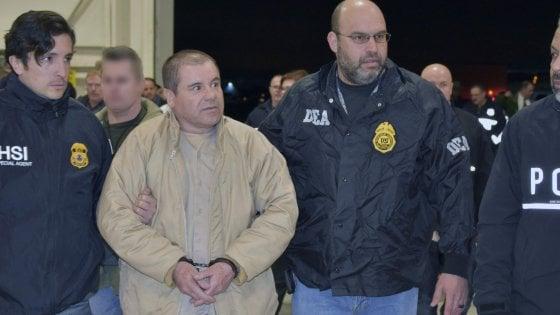 """Usa: """"El Chapo restituisca 12,6 miliardi di dollari"""". Il suo legale: """"Crudeli condizioni in carcere"""""""
