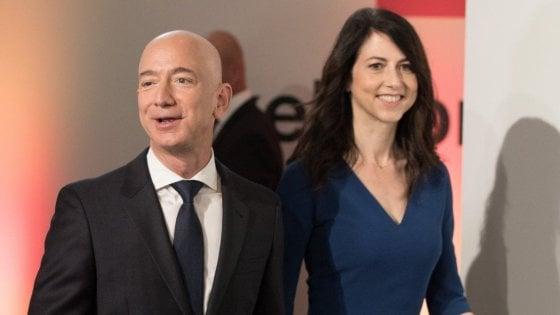Jeff e MacKenzie, accordo trovato: il divorzio da Mr Bezos vale 38 miliardi di dollari