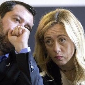 Centrodestra, il giallo dell'incontro Salvini-Meloni. Fonti leghiste smentiscono