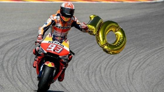 MotoGp Germania: Marquez re del Sachsenring, vince per la decima volta in fila