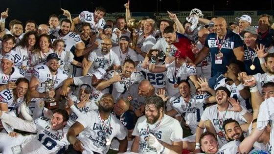 Football americano, 39° Italian Bowl: Seamen ancora campioni. Travolti i Guelfi
