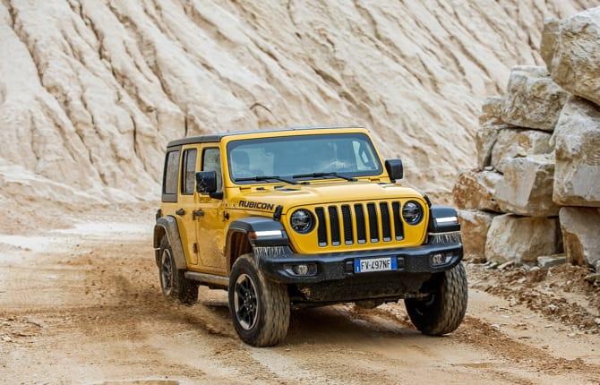 Off Road Awards, Jeep piglia tutto