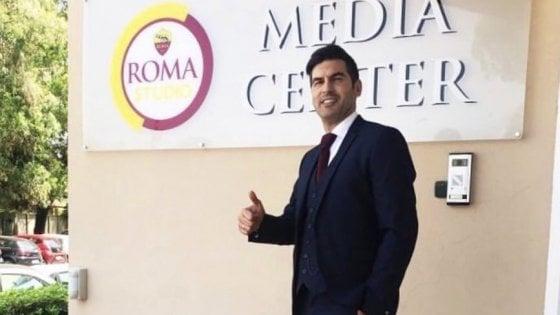 """Roma, ecco Fonseca: """"Sono convinto, qualcosa la vinceremo"""""""