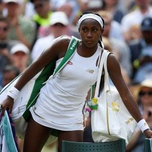 Tennis, Wimbledon: finisce agli ottavi la favola di baby Gauff. Passeggiata per Nadal e Djokovic