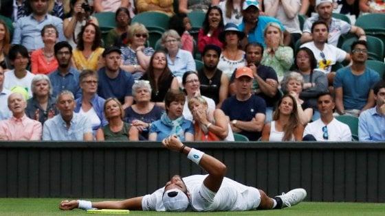 Wimbledon, finisce lavventura di Berrettini: battuto in tre set da Federer
