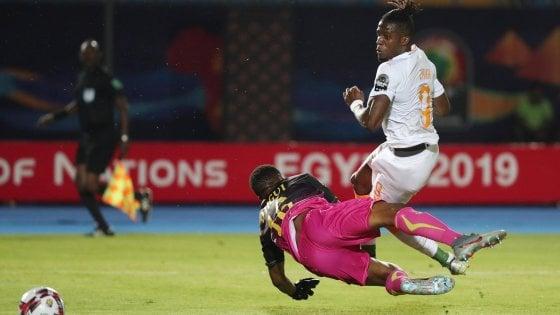 Coppa d'Africa, Costa d'Avorio ai quarti; Zaha stende il Mali. Tunisia elimina il Ghana ai rigori