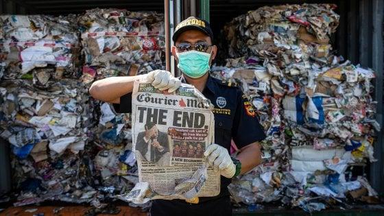 L'Indonesia rispedisce 210 tonnellate di rifiuti in Australia