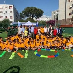 Quarto, il sogno è realtà: nell'oratorio un campo di calcio inclusivo per i bambini