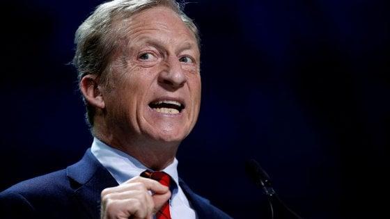 Elezioni Usa 2020: si candida Tom Steyer, il miliardario anti Trump