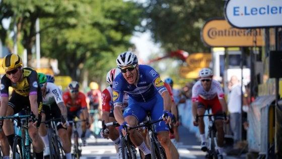 Tour de France, Viviani vince allo sprint: a Nancy tocca all'Italia