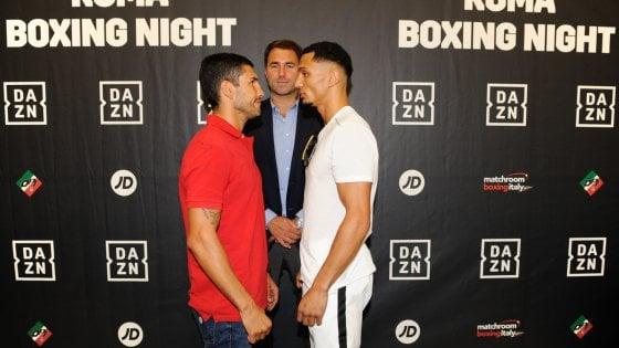 Boxe, Blandamura-Morrison e il re dei ring announcer: giovedì di spettacolo al Foro Italico