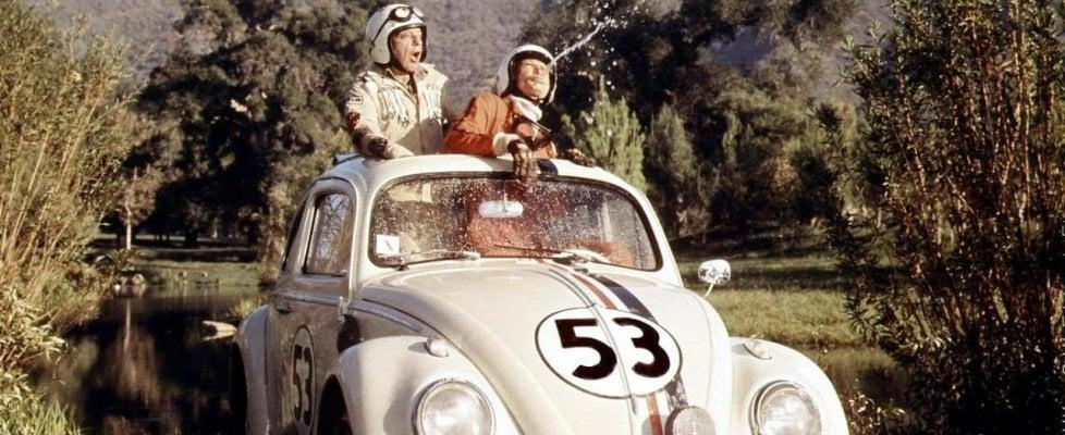 Maggiolino al cinema, 'Tutto matto' per Disney, tragico per Kubrick
