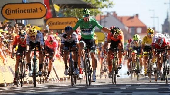 Ciclismo, Tour de France: riecco Sagan, vittoria allo sprint. Alaphilippe resta in giallo