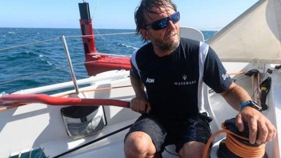 """Vela, dal """"bravo Tommaso, hai fatto il marinaio"""" al Pacifico: Soldini torna in regata col trimarano volante"""